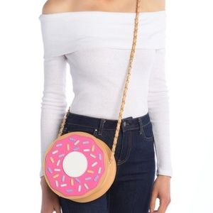 Sprinkle Donut Crossbody Bag by Pink Haley